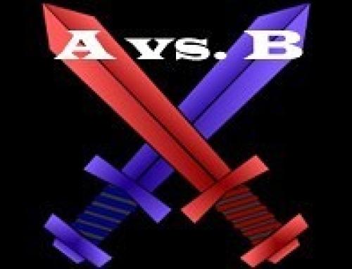 A versus B